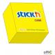 """Bloczek STICK""""N 76x76mm 400k żółty neonowy 21010"""