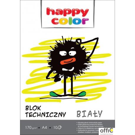 Blok techniczny biały 170g A4 HAPPY COLOR 3550 2030-0