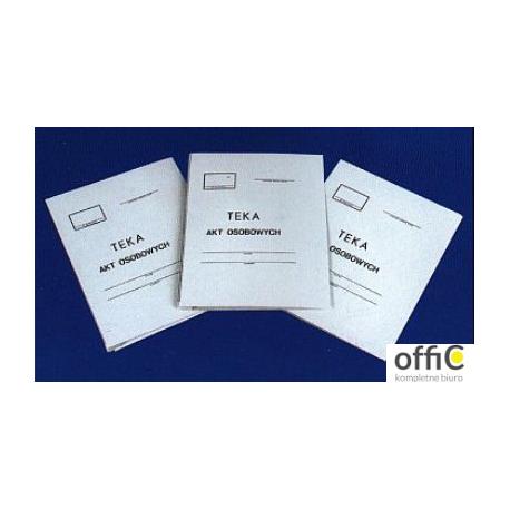 Teczka do akt osobowych A4 KIEL-TECH 350g