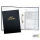 Teczka do akt osobowych z zamkiem czarna zadruk.1824-339-029 WARTA
