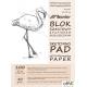 Blok szkicownik A4 100ark. 80g. papier jasny 90891 LENIAR