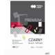 Blok techniczny PREMIUM czarny A4 220g HA 3722 2030-9