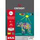 Blok techniczny kolor A3 160g.10arkSłoń CANSON 400 075 230