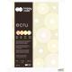 Blok z papierem barwionym DECO ECRU A4/170g 4kol 20k HA 3717 2030-092
