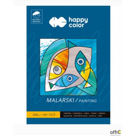 Blok malarski MŁODY ARTYSTA  10ark. 200g. HA 3720 2030-M10 HAPPY COLOR