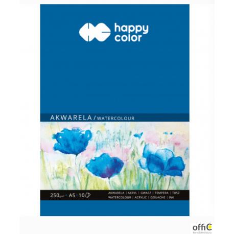 Blok akwarelowy art A5 10ark. 250g HA 3725 1520-A10 HAPPY COLOR