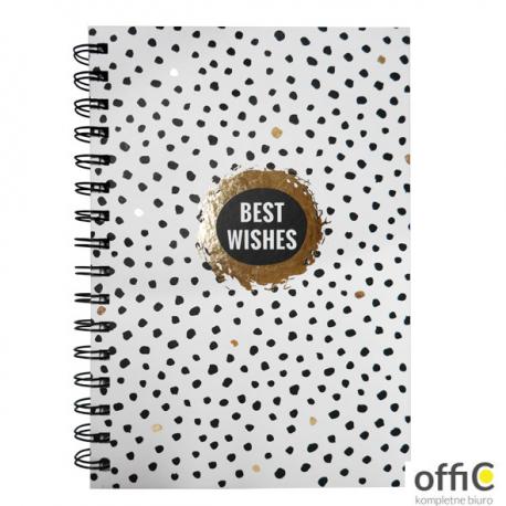 Notes A5 80kartek best wishes INCOOD 0106-0057