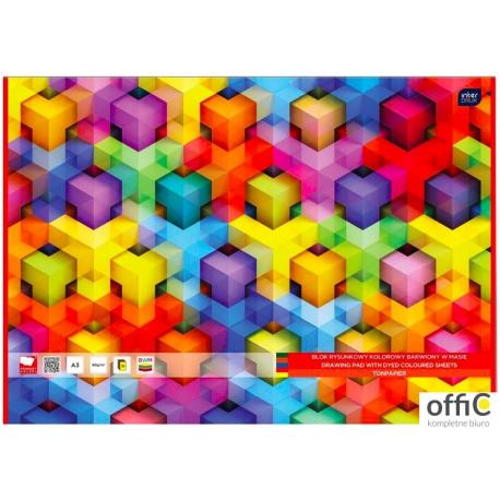 Blok rysumkowy A3 10 barw.w masie INTERDRUK