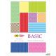 Blok z motywami BASIC 80g. A4 15ark. HA 3808 2030-A  Happy Color