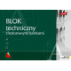 Blok techniczny kolor A3 10 kartek UNIPAP