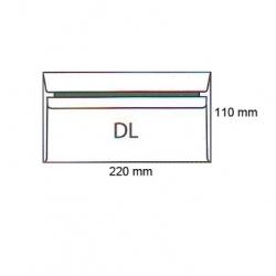 Koperty DL SK białe (50szt.) NC samoklejące 11221000/50