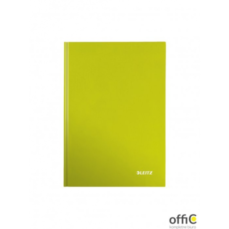 Brulion w kratkę A5 LEITZ WOW zielony 46281154
