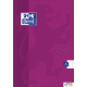 Brulion A4 96K laminowany OXFORD TOUCH kratka z marginesem 400075022