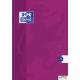 Brulion A5 96K laminowany OXFORD TOUCH kratka z marginesem 400075021