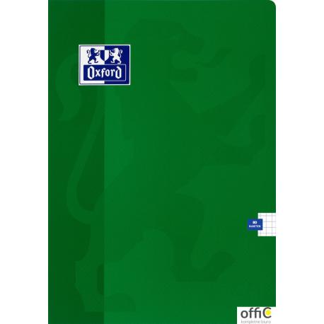 Brulion MO OXFORD ESSE A4 96k kratka z marginesem 400017512
