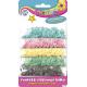 Confetti cekinowe kółka 5kol.pastel 1000szt. 335116005  ASTRA