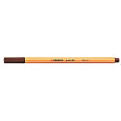 Cienkopis STABILO point 88 0.4mm brąz 88/45