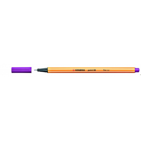Cienkopis STABILO point 88/58 0.4mm lila