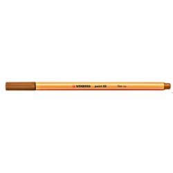 Cienkopis STABILO point 88/89 0.4mm ciemna ochra