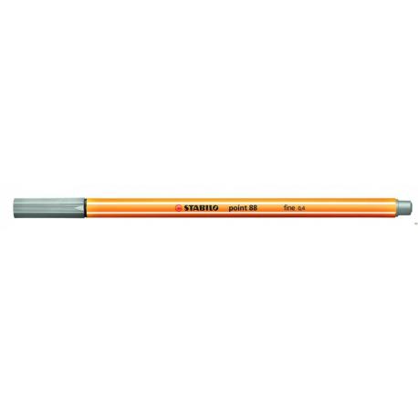 Cienkopis STABILO point 88/94 0.4mm szary