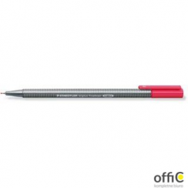 Cienk.TRIPLUS FIN. czerwony STEADLER 0.3 334-2
