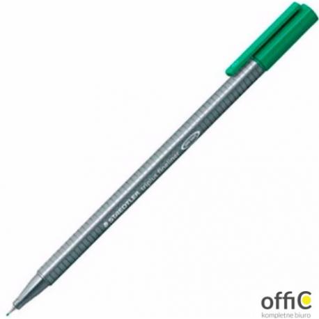 Cienkopis TRIPLUS FINELINER zielony STEADLER 334-5