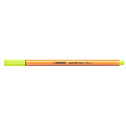 Cienkopis STABILO point 88/024 neonowy żółty