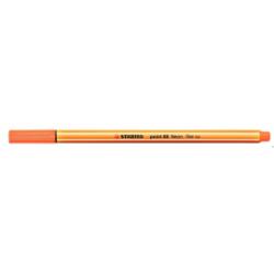 Cienkopis STABILO point 88/054 neonowy pomarańczowy