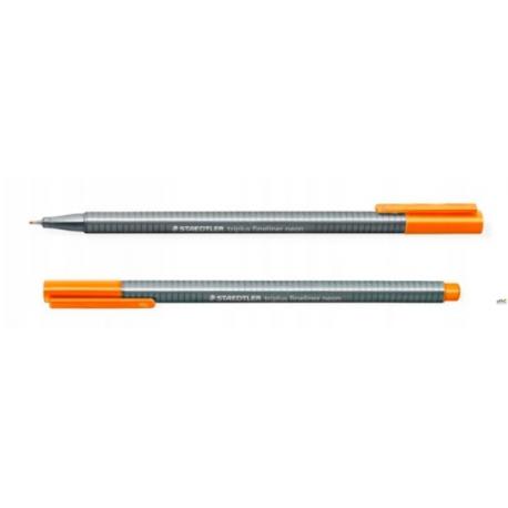 Cienkopis TRIPLUS FINEL 334-401 pomarańczowy neonowy 0.3mm
