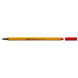 Cienkopis F-Liner 0,4mm, pomarańczowa obudowa czerwony TO-344 Toma