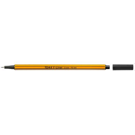 Cienkopis F-LINER 0.4  czarny TO-344 TOMA