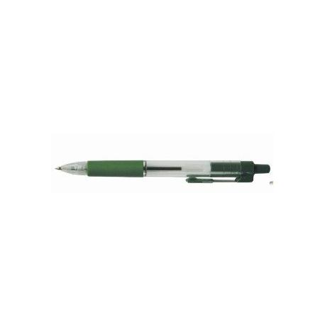 Długopis automatyczny RECT AH-525E zielony 166024 LEVIATAN