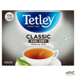 Herbata TETLEY EARL GREY czarna 100 saszetek