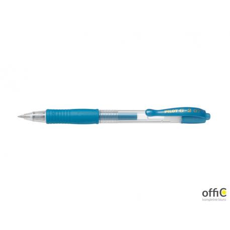 Długopis żelowy G-2 METALIC niebieski PIBL-G2-7-ML PILOT