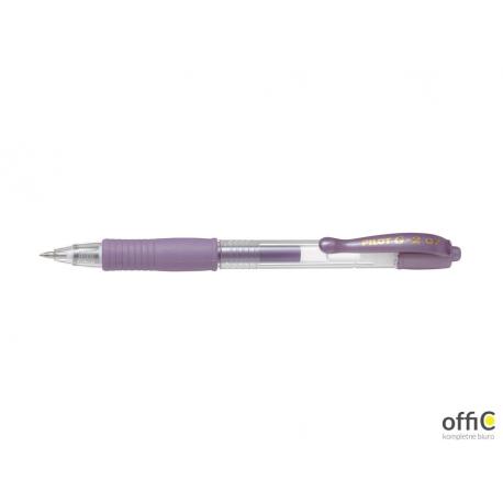 Długopis żelowy G-2 METALIC fioletowy PIBL-G2-7-MV PILOT