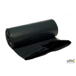 Worki na śmieci z taśmą 60l 10szt. DOTTS super mocne (LDPE) 25mic czarne