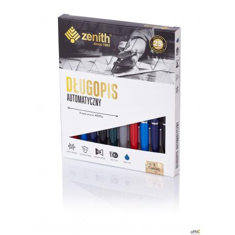 Długopisy automatyczne ZENITH 7 NIKIEL (10sztuk) 4071000