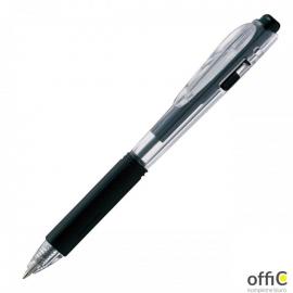 Długopis PENTEL BK437 z gumowym uchwytem automatyczny czarny