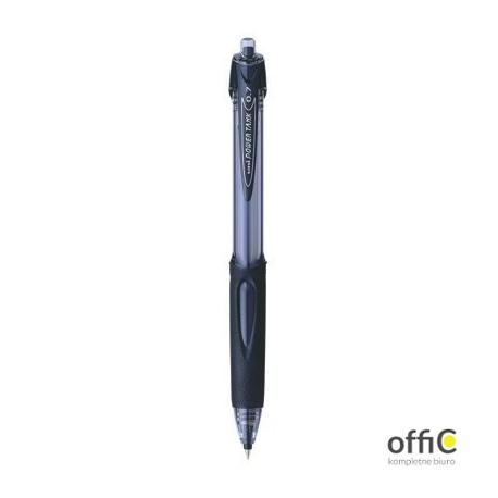 Długopis UNI Powertank SN-227 czarny UNSN227/DCA