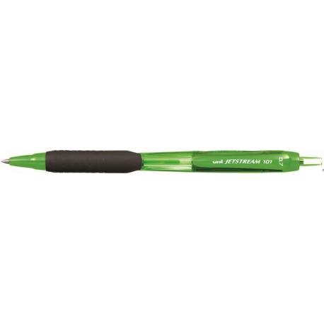 Długopis UNI SXN-101C zielona obudowa niebieski wkład UNSXN101C/DZI