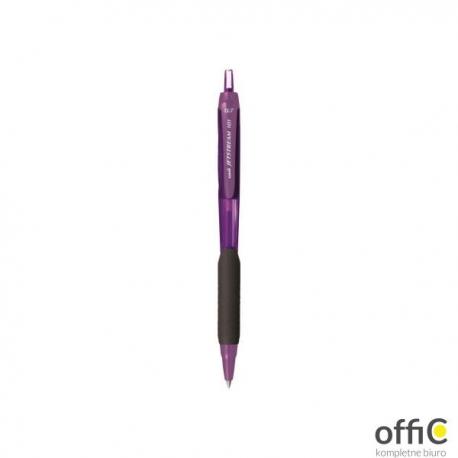 Długopis UNI SXN-101C fioletowa obudowa, niebieski wkład
