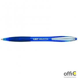 Długopis ATLANTIS PREMIUM niebieski BIC metal clip 9021322