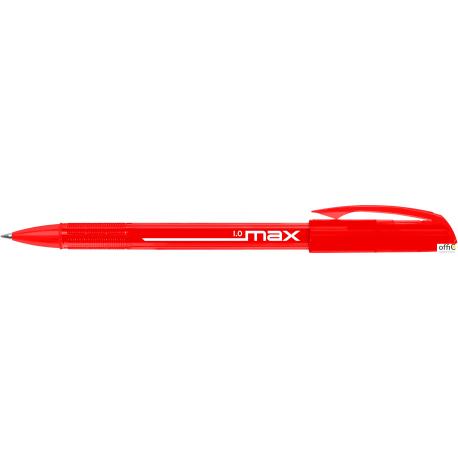 Długopis MAX 10 czerwony RYSTOR 408-001