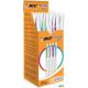 Długopis CRISTAL UP mix kolorów (20sztuk) BIC 950446