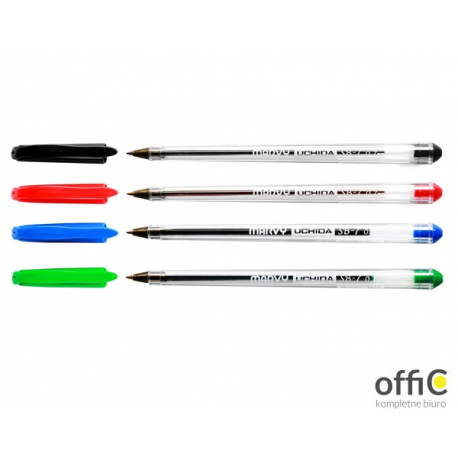 Długopis UCHIDA SB-7 czarny LEVIATAN 204736