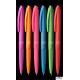 Długopis 0.7mm, mix kol.obudowy , wkład niebieski KD910-NM TETIS