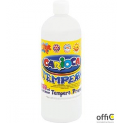 Farba tempera 1000 ml, biały CARIOCA 170-1440