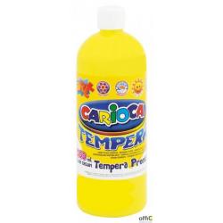 Farba tempera 1000 ml, żółty cytrynowy CARIOCA 170-1864