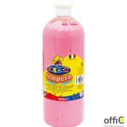 Farba tempera 1000 ml, różowa CARIOCA 170-2303