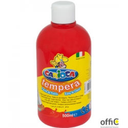 Farba tempera 500 ml, czerwona CARIOCA 170-2359